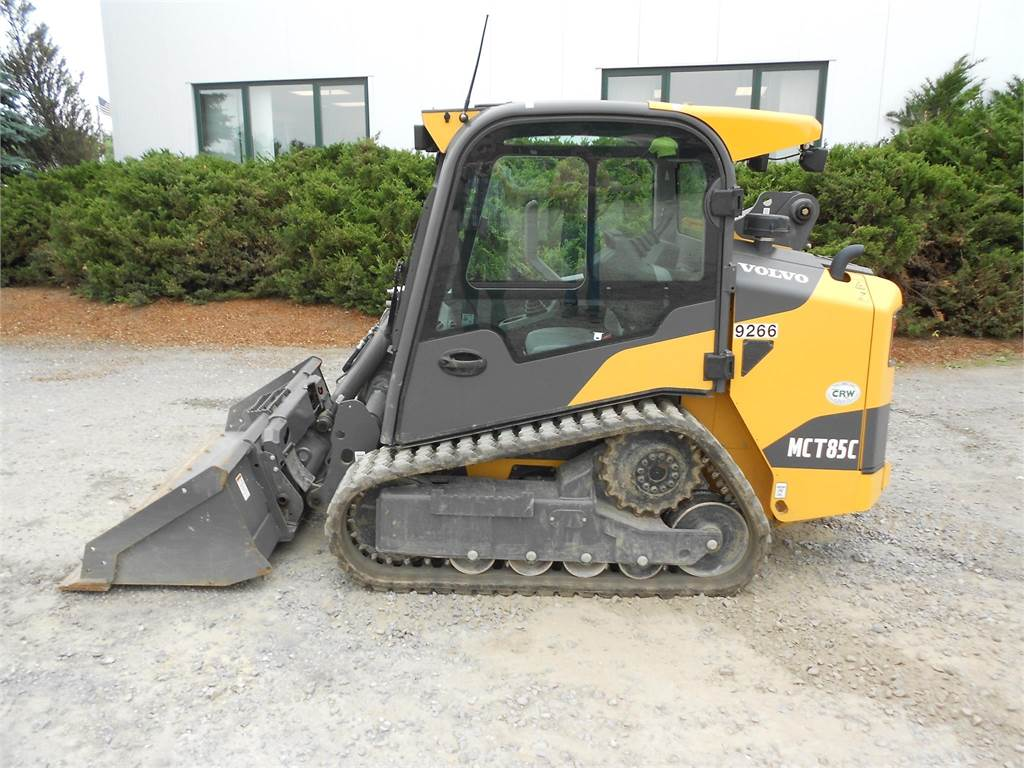 Skid Steer Tools : Volvo mct c compact track skid steer construction