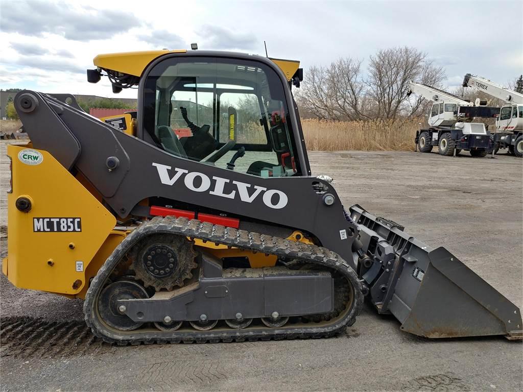 Volvo MCT85C, Skid Steer Loaders, Construction Equipment