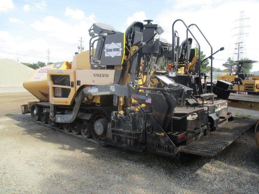 Volvo P7110, Asphalt pavers, Construction Equipment