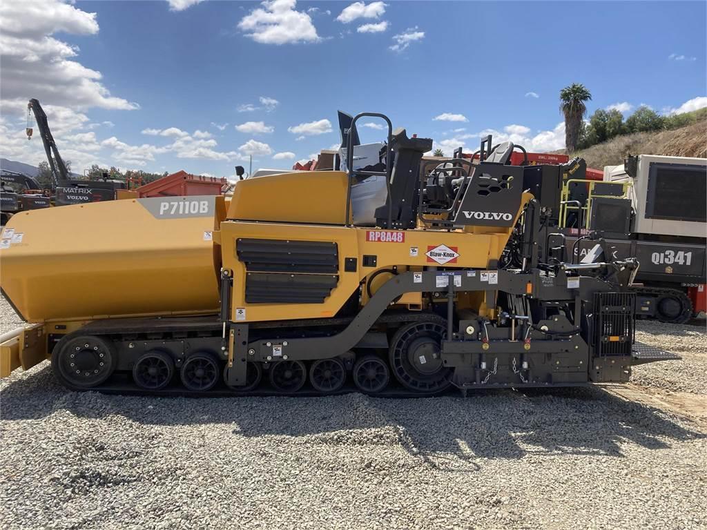Volvo P7110B, Asphalt pavers, Construction Equipment