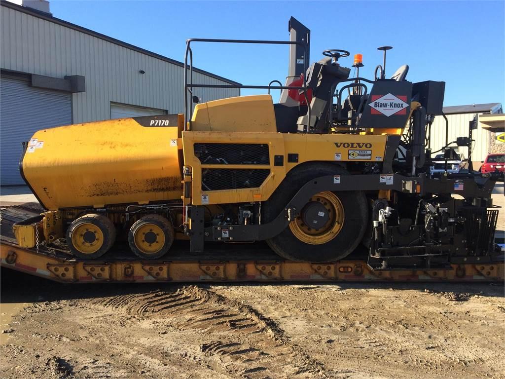 Volvo P7170, Asphalt pavers, Construction Equipment