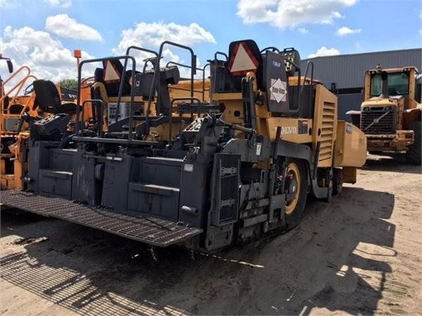 Volvo PF6160, Asphalt pavers, Construction Equipment