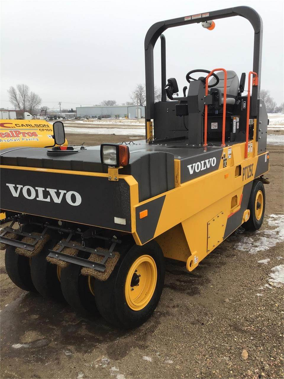 Volvo PT125C, Pneumatic tired rollers, Construction Equipment