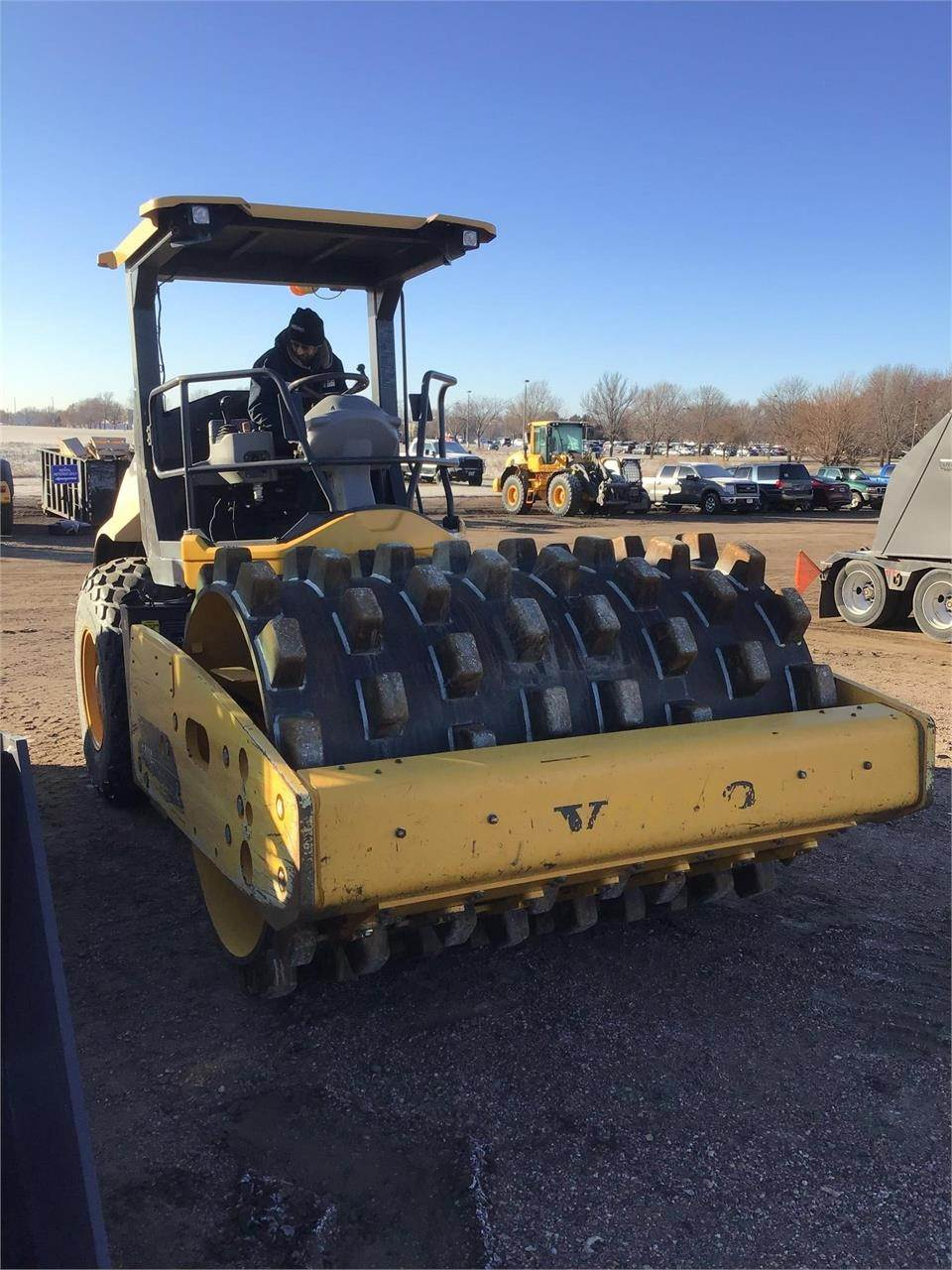 Volvo SD115, Soil Compactors, Construction Equipment