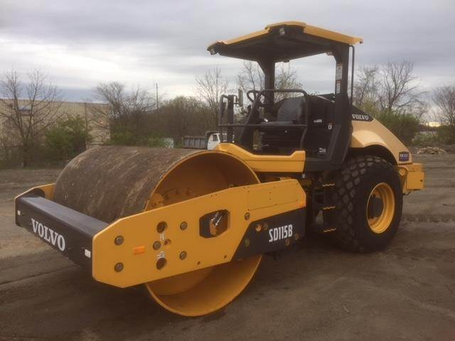 Volvo SD115B, Single drum rollers, Construction Equipment