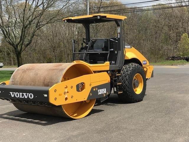 Volvo SD115B, Single drum rollers, Construction Equipment