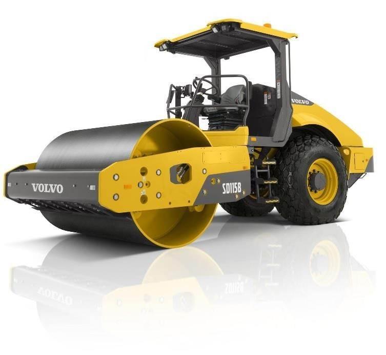 Volvo SD115B, Asphalt Compactors, Construction Equipment
