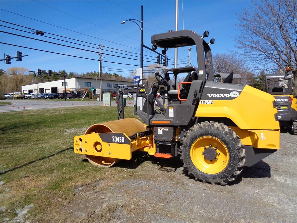 Volvo SD45B, Asphalt Compactors, Construction Equipment