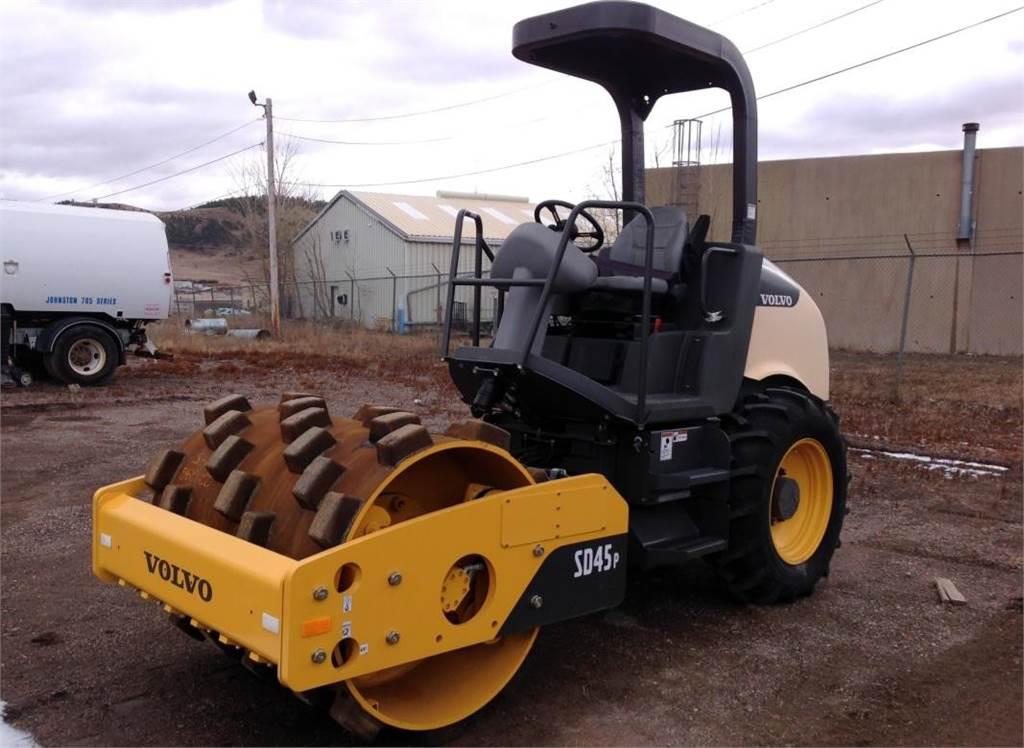 Volvo SD45P, Soil Compactors, Construction Equipment