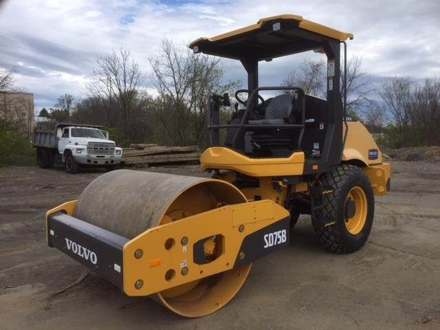 Volvo SD75B, Single drum rollers, Construction Equipment