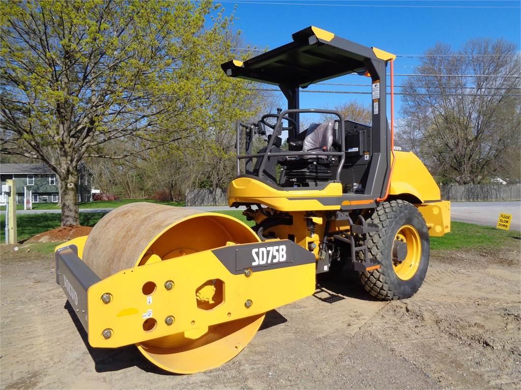 Volvo SD75B, Single drum rollers, Construction Equipment