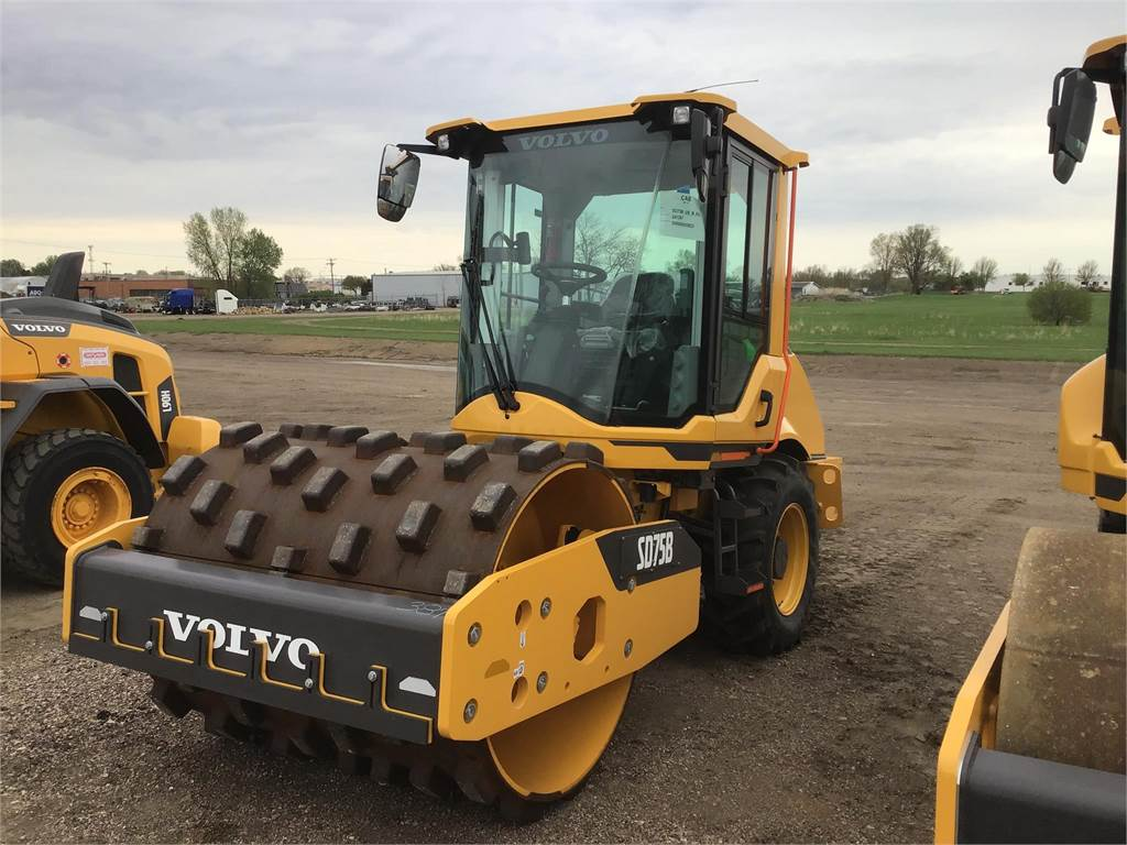 Volvo SD75B, Asphalt Compactors, Construction Equipment