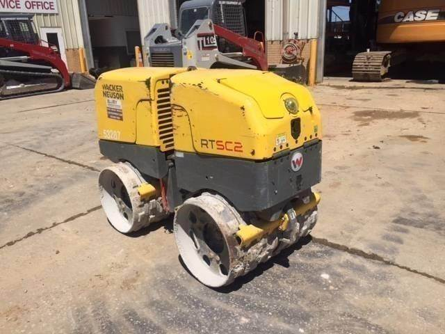 Wacker RTSC2, Towed vibratory rollers, Construction Equipment