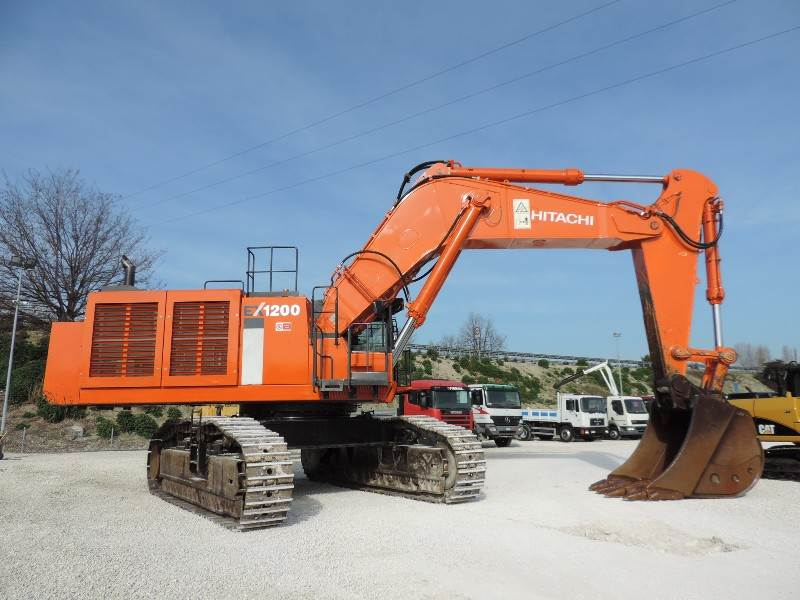 Hitachi EX1200-6BE, Crawler Excavators, Construction Equipment