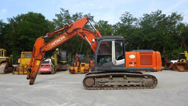 Hitachi ZX 240 NT-3, Crawler Excavators, Construction Equipment