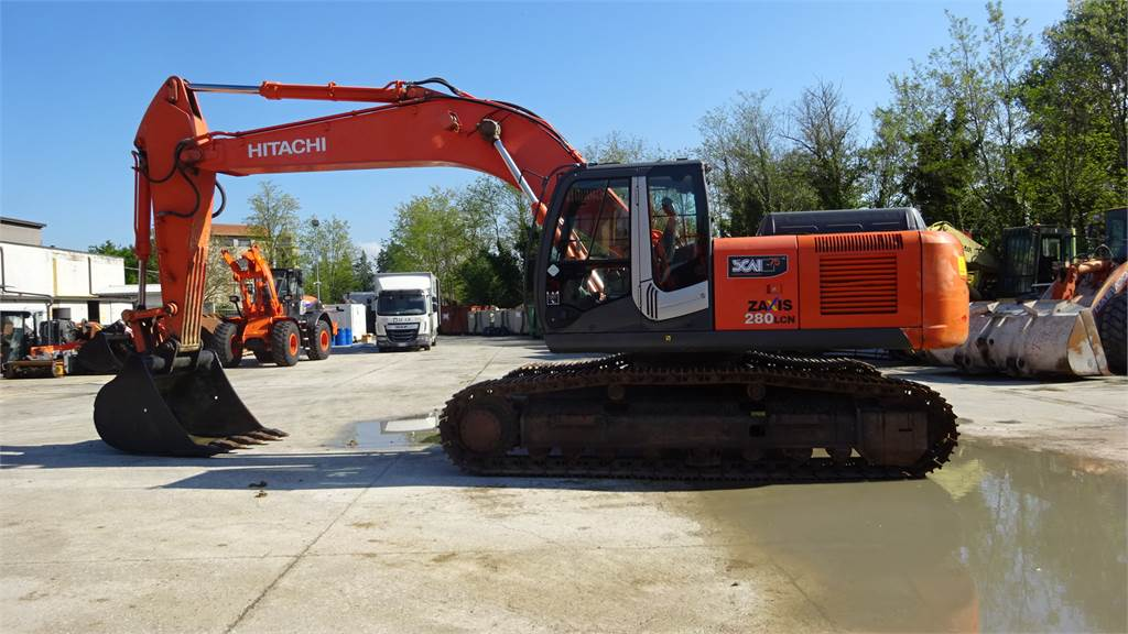 Hitachi ZX 280 LCNM-3, Crawler Excavators, Construction Equipment