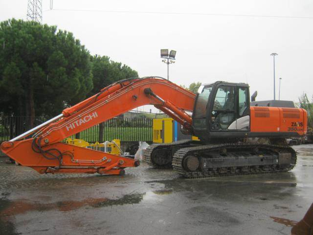 Hitachi ZX 350 LCNM-5, Crawler Excavators, Construction Equipment