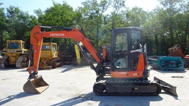 Hitachi ZX 55U-5A-CLR - Mini excavators < 7t - Construction