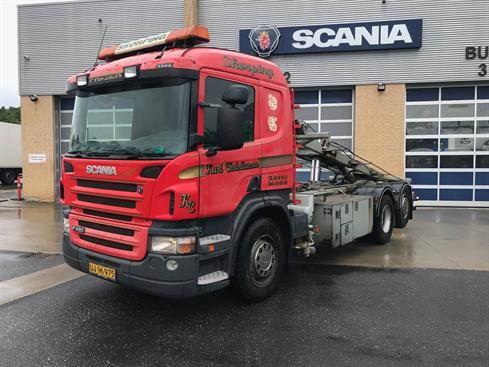 Scania P420, Demonterbare/wirehejs lastbiler, Transport