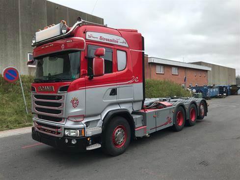Scania R580, Kroghejs, Transport