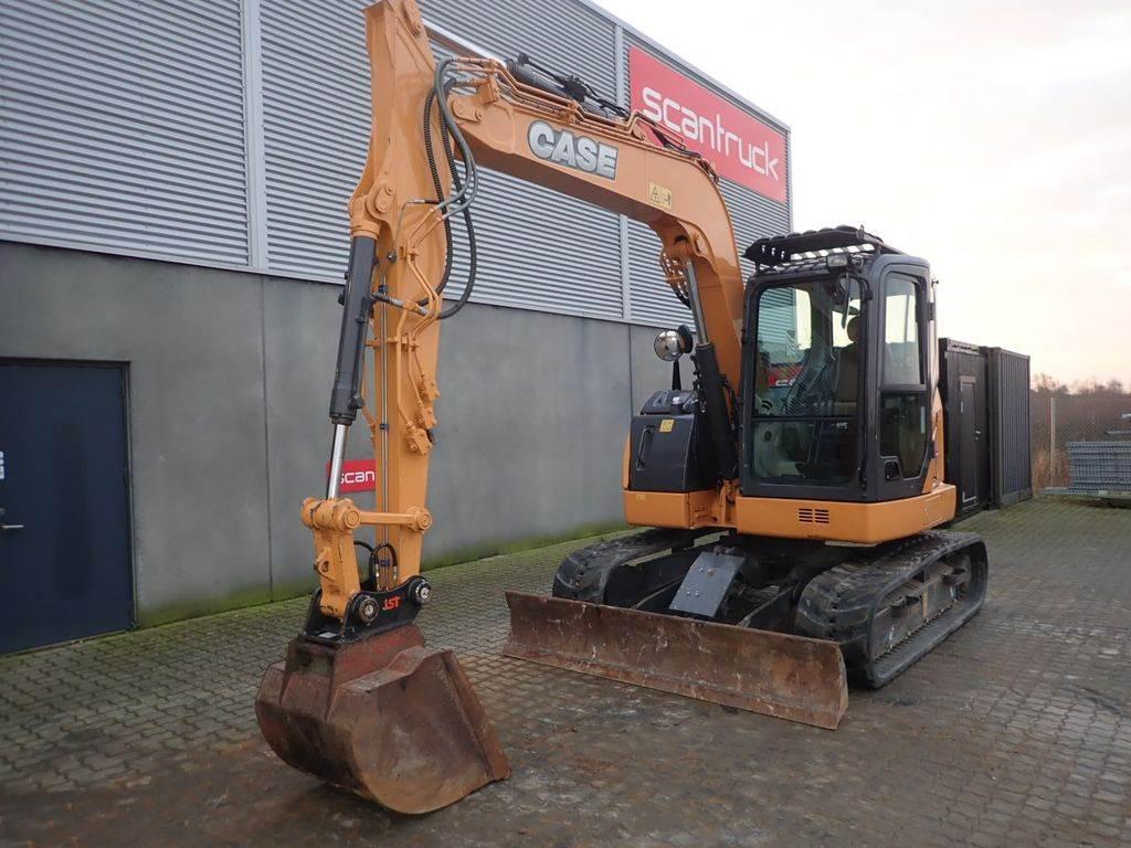 CASE CX75C SR, Mini excavators, Construction Equipment