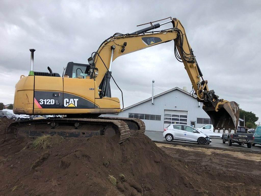 Caterpillar 312D, Crawler Excavators, Construction Equipment