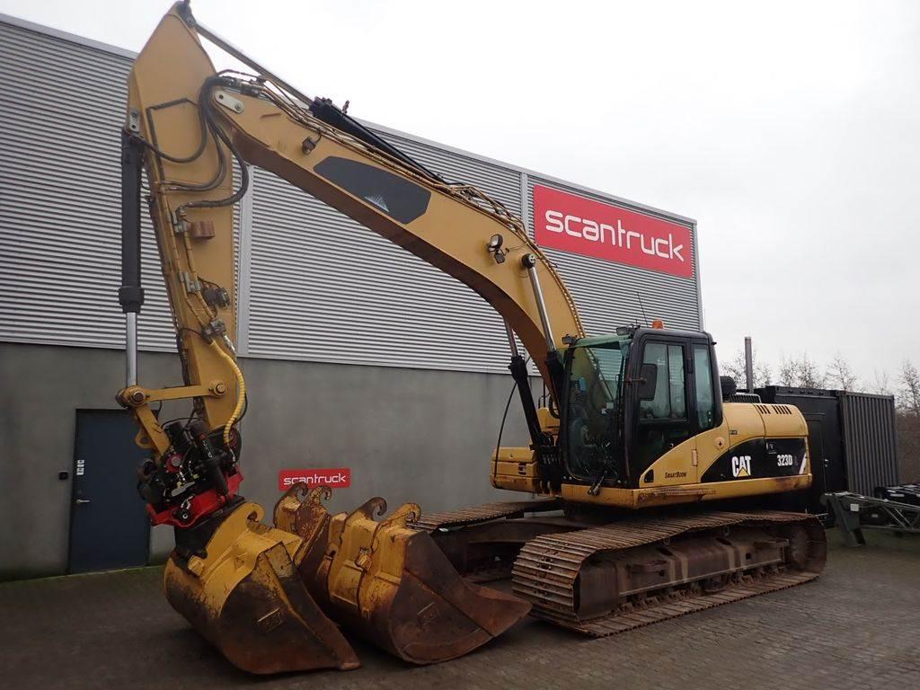 Caterpillar 323D, Crawler Excavators, Construction Equipment