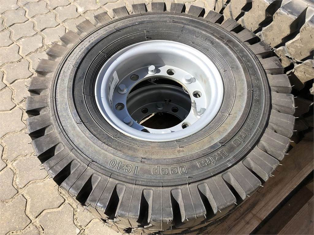 Continental Hjul 6.00 - 9, Tires, wheels and rims, Construction Equipment