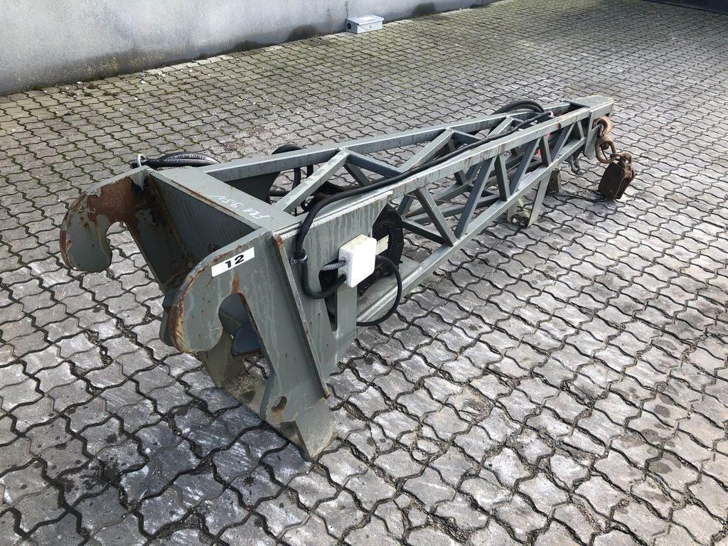 Dieci Kranarm m/spil, Crane Parts and Equipment, Construction Equipment