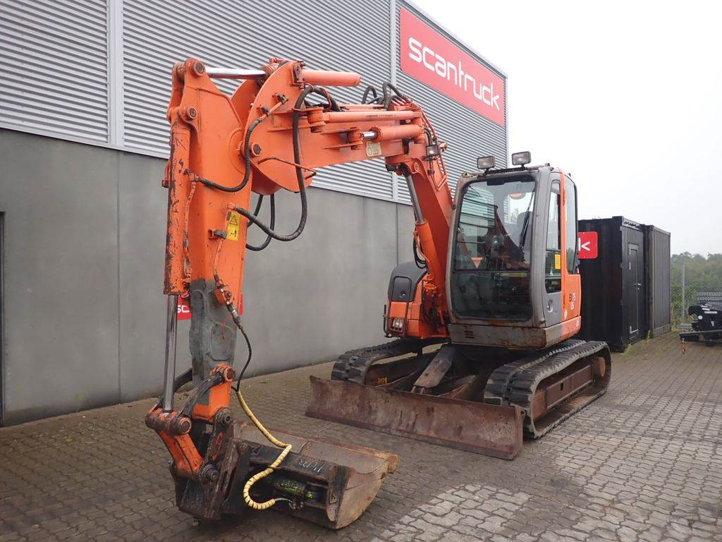 Hitachi EX75US, Mini excavators, Construction Equipment