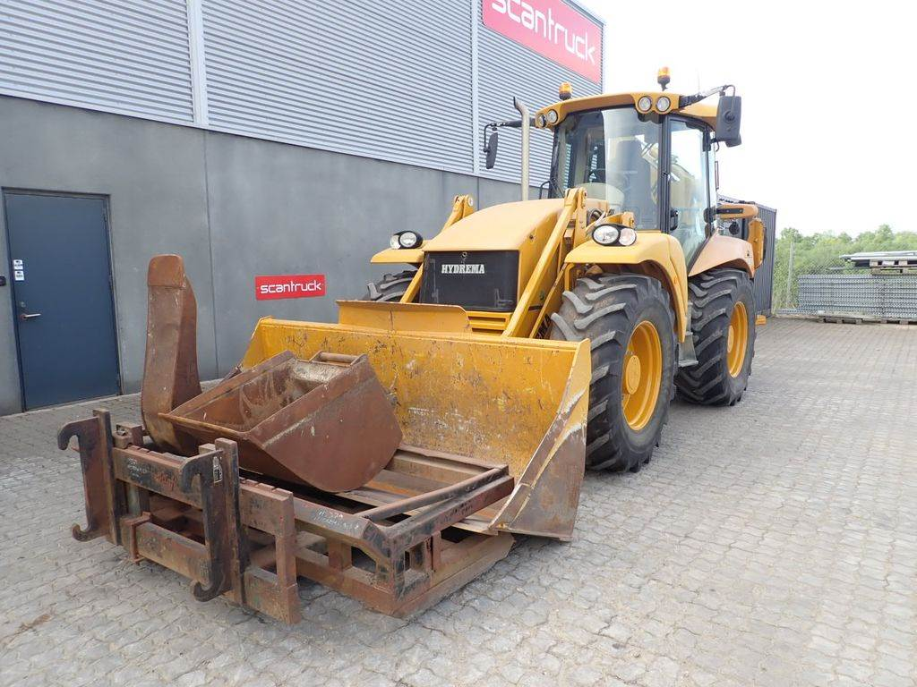 Hydrema 906E, Backhoe Loaders, Construction Equipment