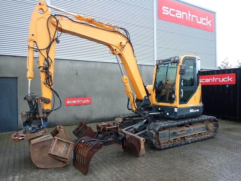 Hyundai R80CR-9, Mini excavators, Construction Equipment