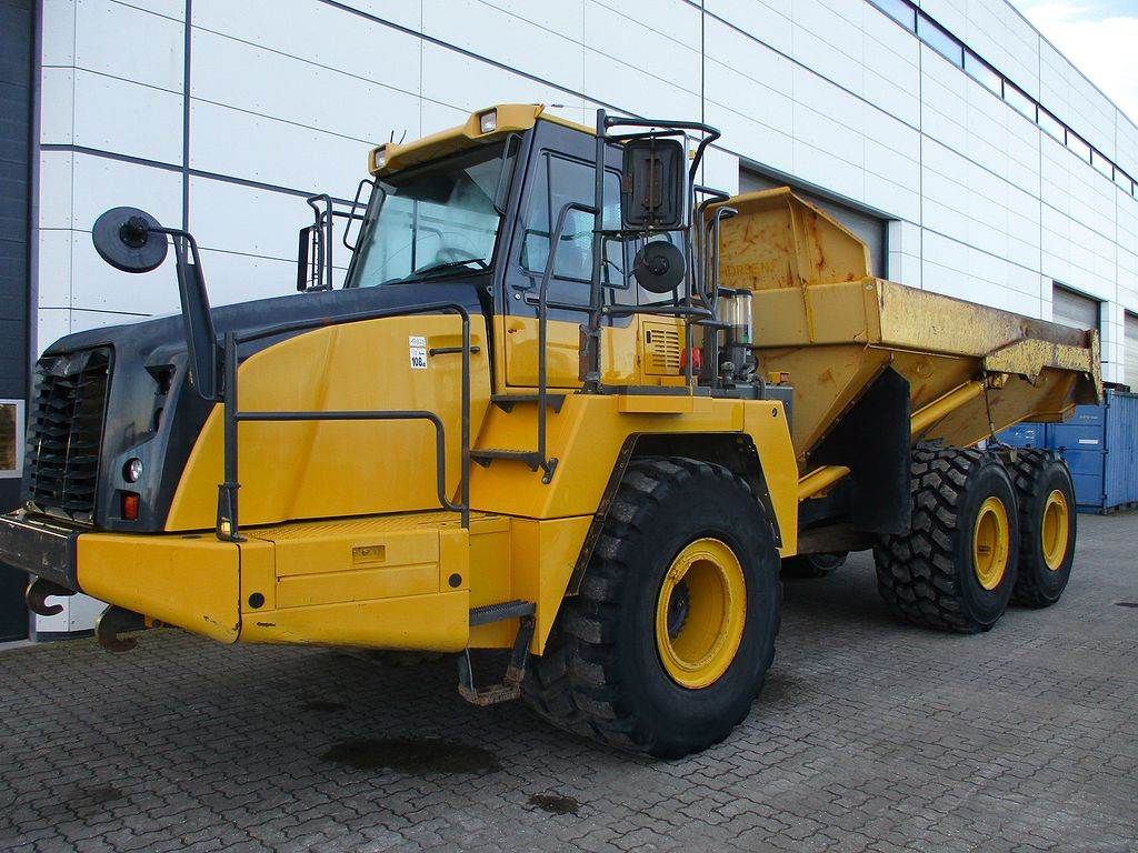 Komatsu HM300-3, Articulated dump trucks, Construction Equipment