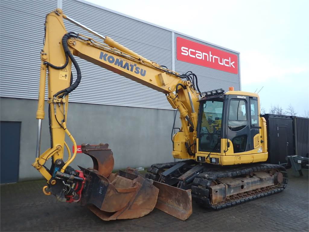 Komatsu PC138US-10, Crawler Excavators, Construction Equipment