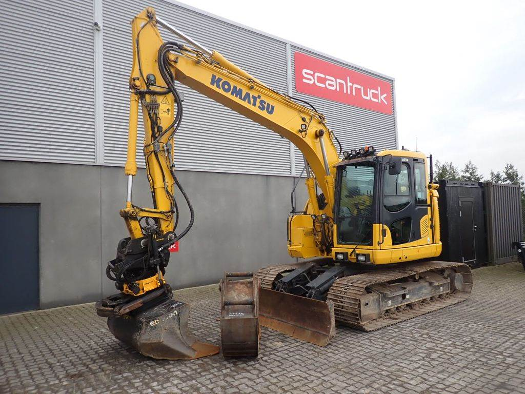 Komatsu PC138US-11, Crawler Excavators, Construction Equipment