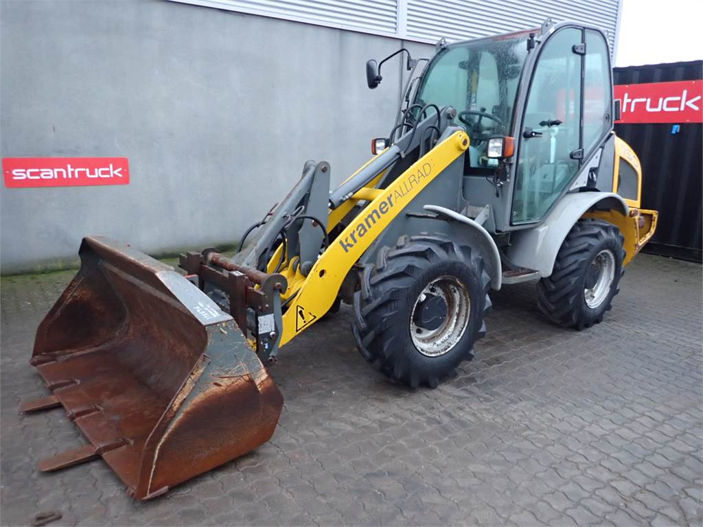 Kramer Allrad 750, Wheel Loaders, Construction Equipment