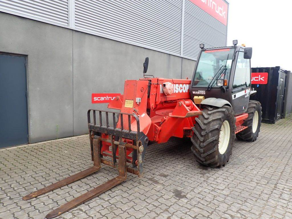 Manitou MT1233ST Ultra, Telescopic Handlers, Construction Equipment