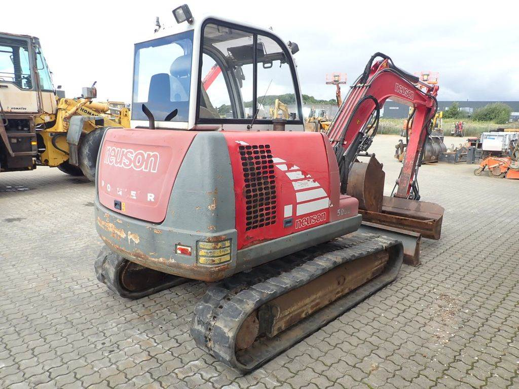 Neuson 5002Rd, Mini excavators, Construction Equipment