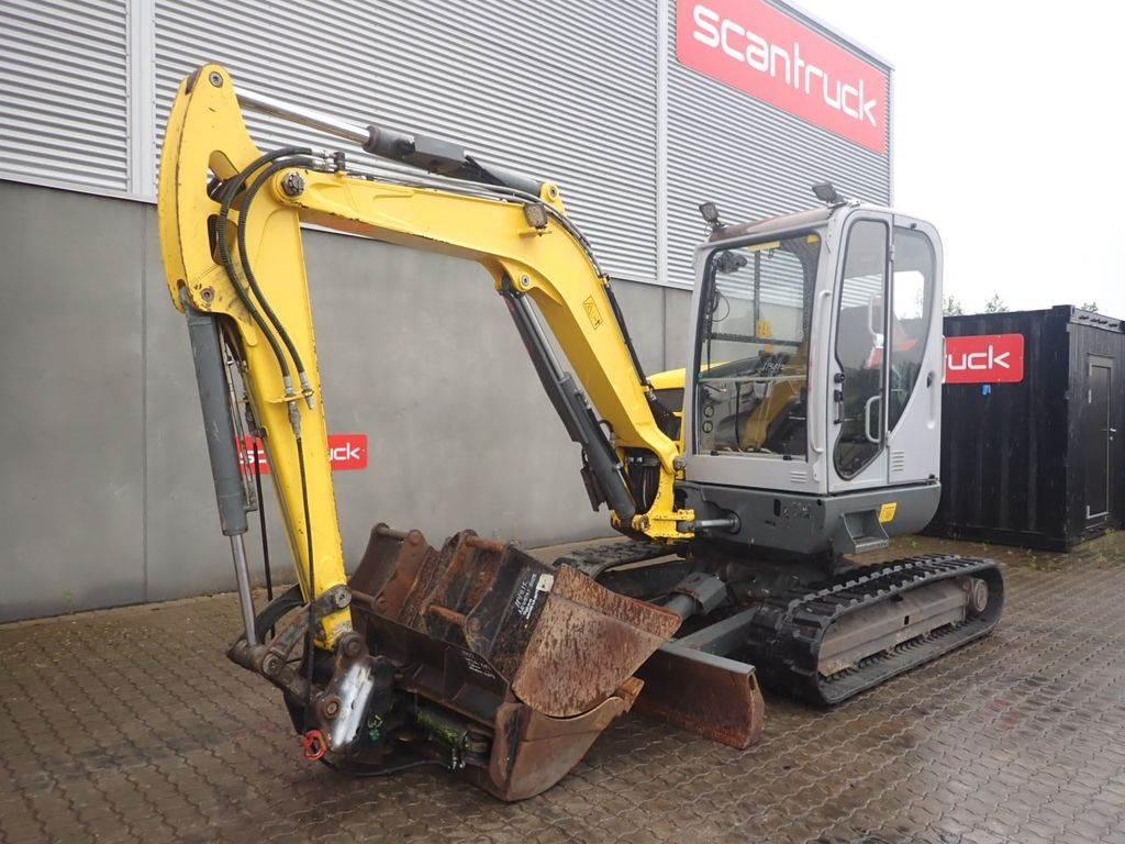 Neuson 50Z3 VDS, Mini excavators, Construction Equipment