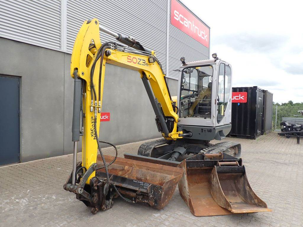 Neuson 50Z3 VDS, Mini excavators, Construction