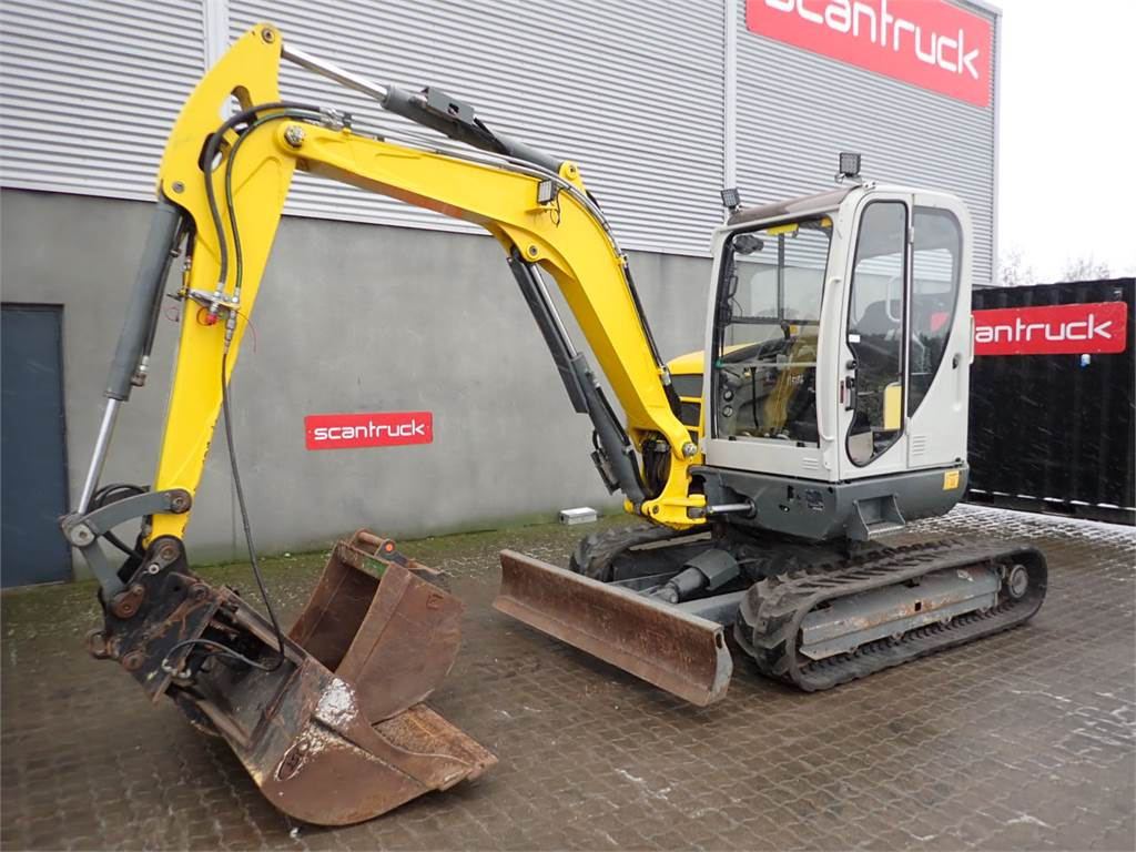 Neuson 50Z3 VDS, Mini excavators, Construction Equipment