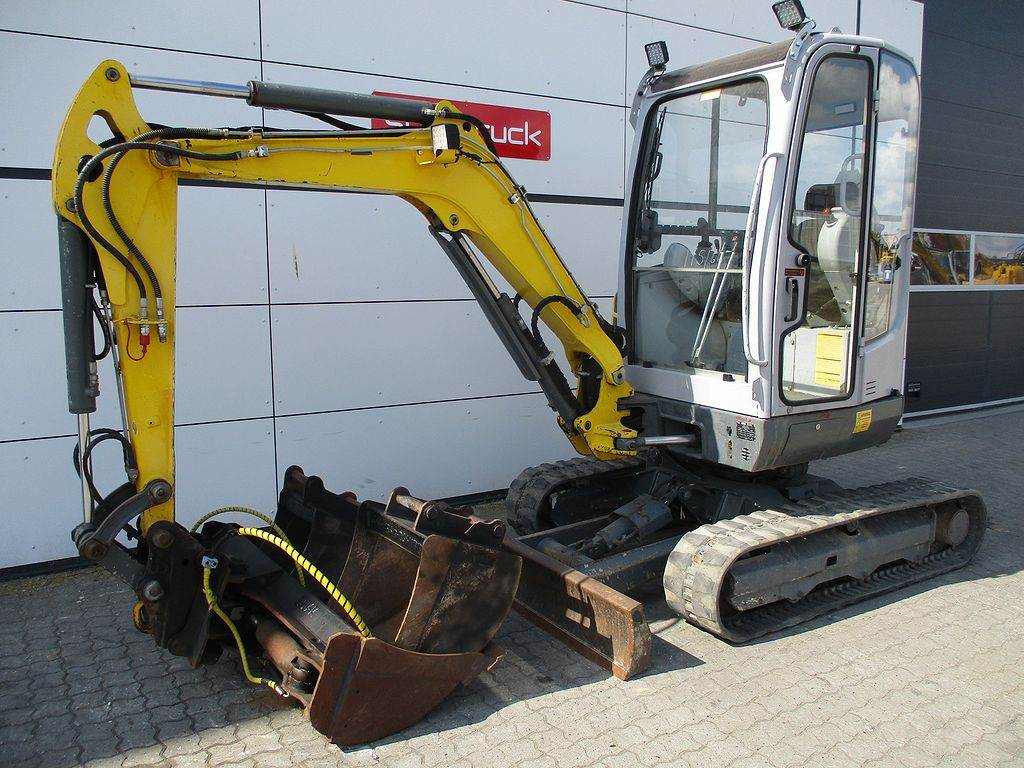 Neuson EZ28 VDS, Mini excavators, Construction Equipment