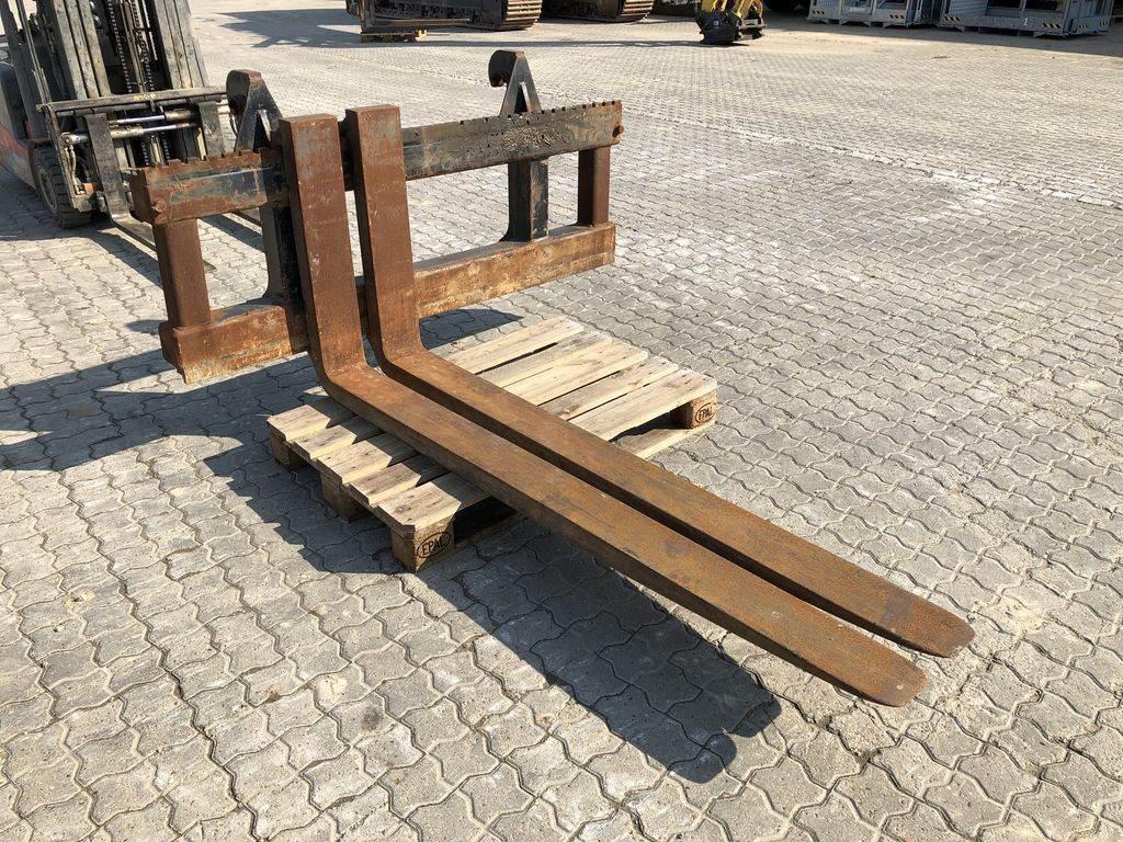 [Other] Øvrige Pallegaffelsæt, 11 tons, Forks, Construction Equipment