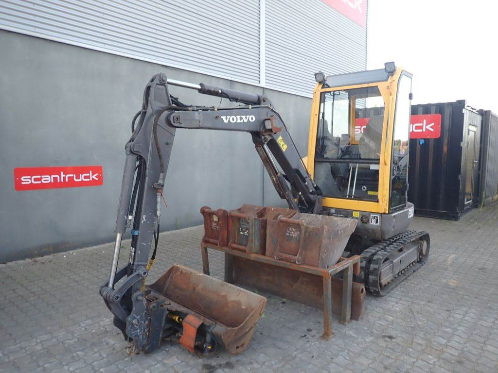 Volvo ECR28, Mini excavators, Construction Equipment