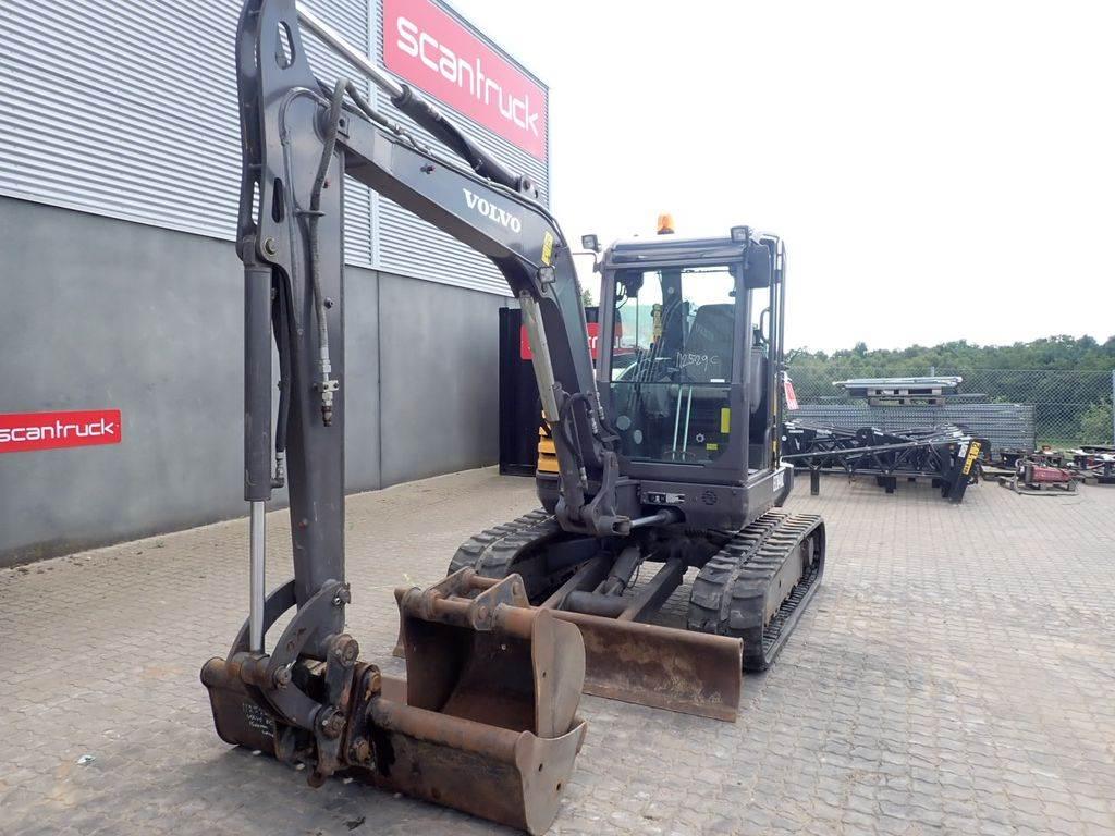 Volvo ECR48C, Mini excavators, Construction Equipment
