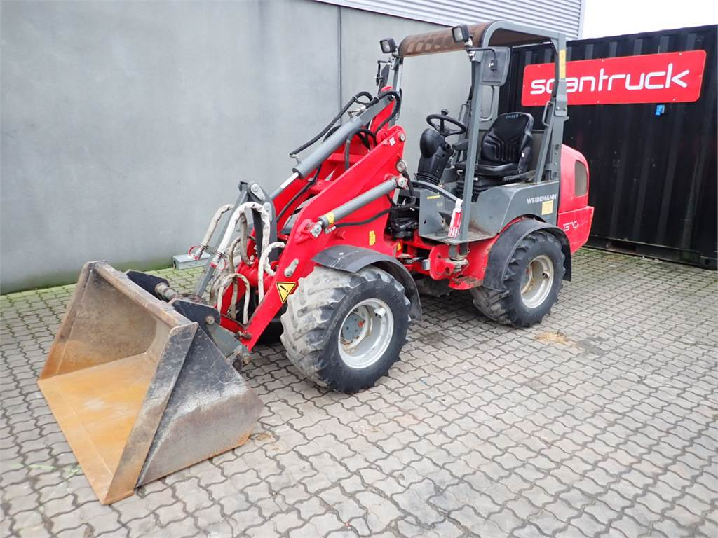 Weidemann 1370, Wheel Loaders, Construction Equipment