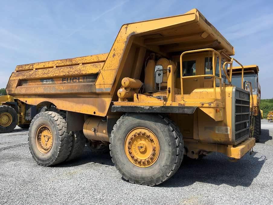 Euclid R35, Rigid dump trucks, Construction Equipment