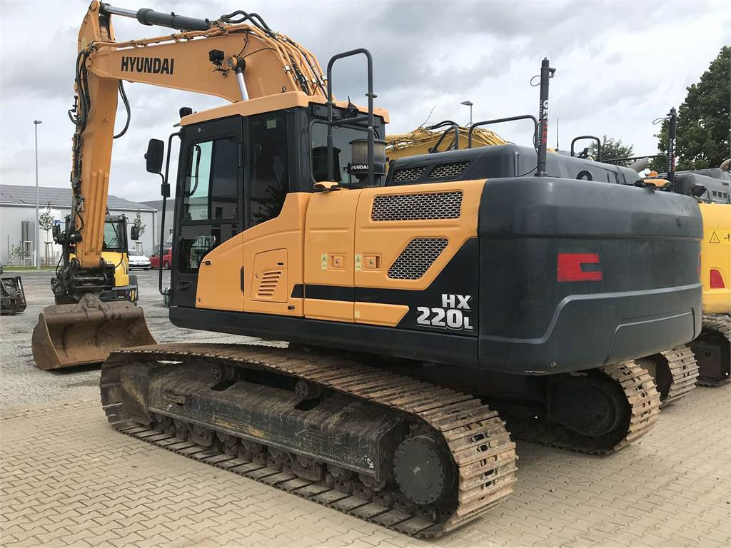Hyundai HX220L, Crawler Excavators, Construction Equipment