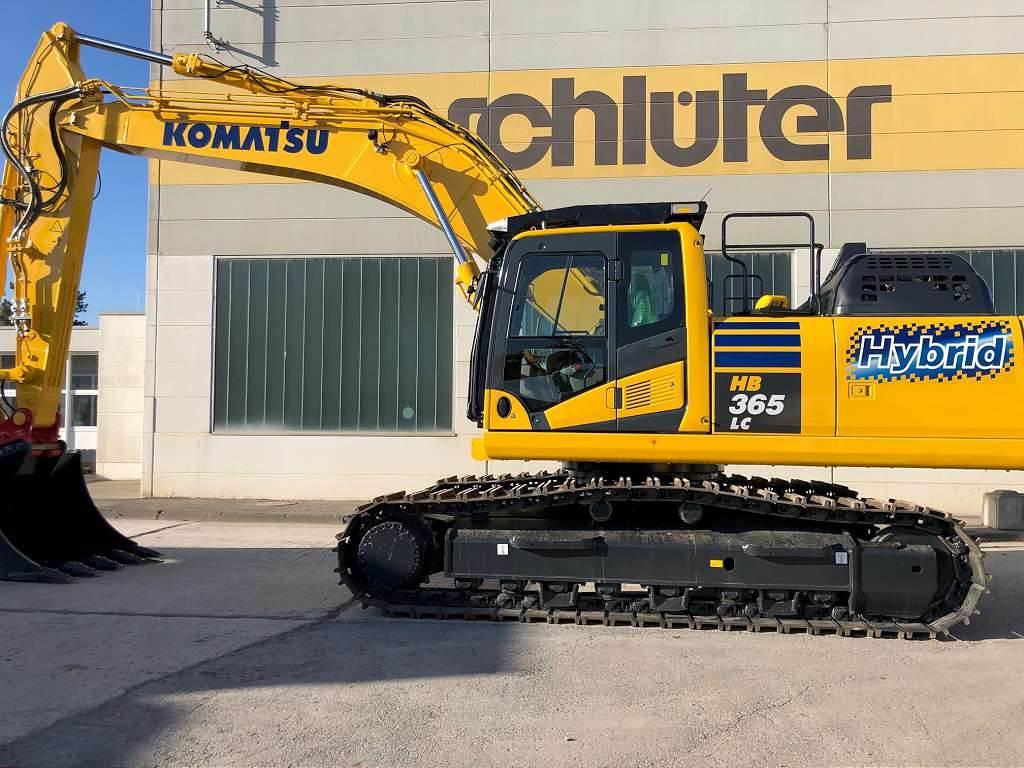 Komatsu HB365LC-3, Crawler Excavators, Construction Equipment