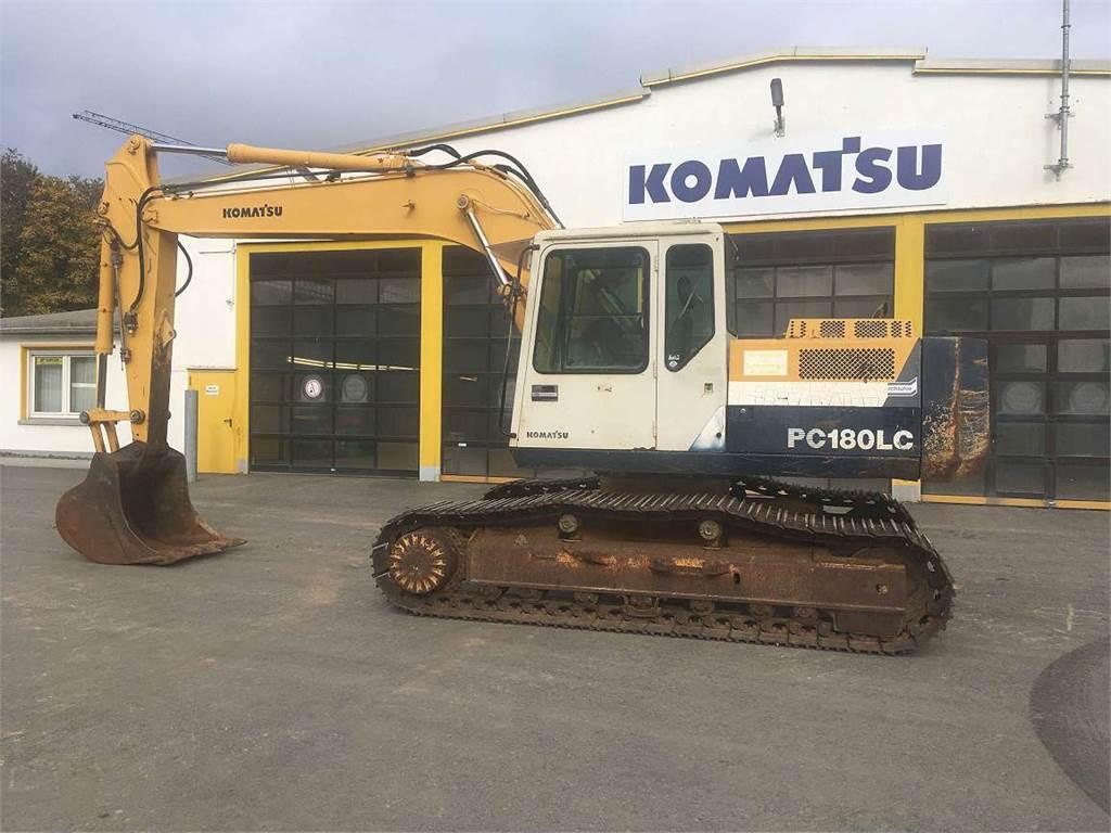 Komatsu PC180LC-5K, Crawler Excavators, Construction Equipment